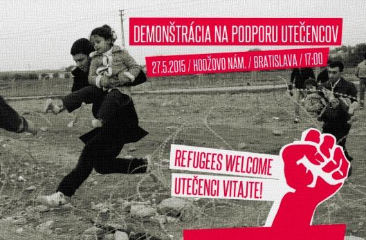 Podporte demonštráciu na podporu utečencov v Bratislave